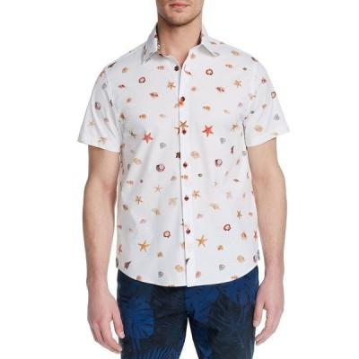 ブルックリン ブリゲイド シャツ トップス メンズ Men's Slim-Fit Smiths Cove Short Sleeve Shirt White