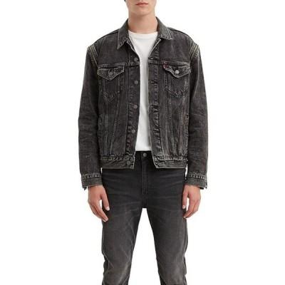 リーバイス メンズ ジャケット・ブルゾン アウター Levi'sR The Trucker Zip Off Sleeves Denim Jacket