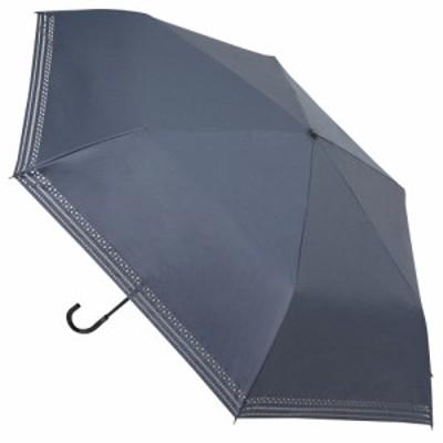 hands+ 軽量1級遮光日傘 折りたたみ傘 53cm ネイビー│hands+ウェザー hands+ 折り畳み傘
