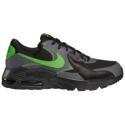 ナイキ スニーカー シューズ メンズ Nike Men's Air Max Excee Shoes Black/Green/Grey