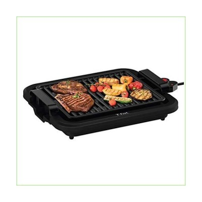 T-fal TG403D52 Compact Smokeless Indoor Sear Capability, Electric Grill, 4 Servings, Black「並行輸入品」