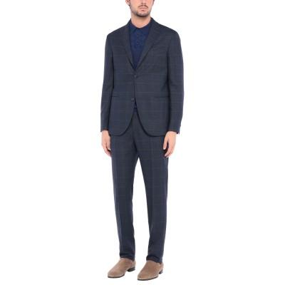 ボリオリ BOGLIOLI スーツ ダークブルー 48 バージンウール 100% スーツ