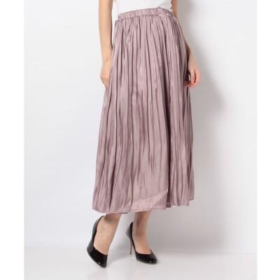 Melan Cleuge 【Melan Cleuge women】オーロララメスカート(ピンク)【返品不可商品】