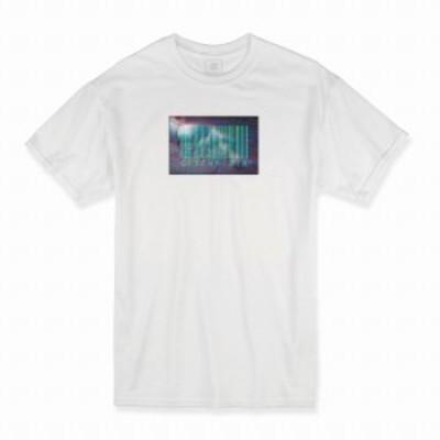 Tシャツ ホワイト 大人 ユニセックス メンズ レディース ビッグシルエット 半袖 ロンT 白T ロゴ シンプル 大きいサイズ 大きめサイズ 渋