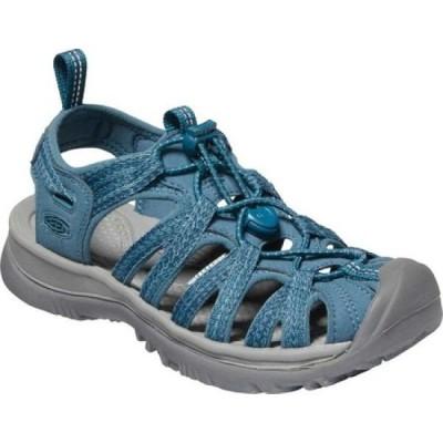キーン Keen レディース サンダル・ミュール シューズ・靴 Whisper Sandal Smoke Blue