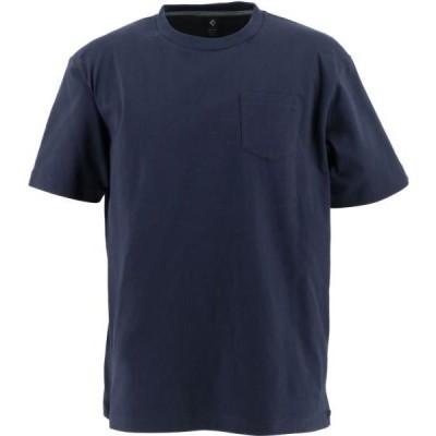 【ネコポス対応】CONVERSE コンバース クルーネックTシャツ(胸ポケット付) バスケTシャツ CA201372-2900(ネイビー) 20SS