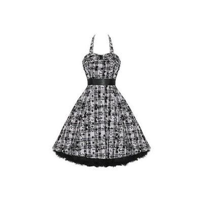 ハーツアンドローズロンドン ドレス ワンピース レディース New ハートs ローズs London パープル ホワイト タトゥー Punk Emo Prom パーティ ドレス
