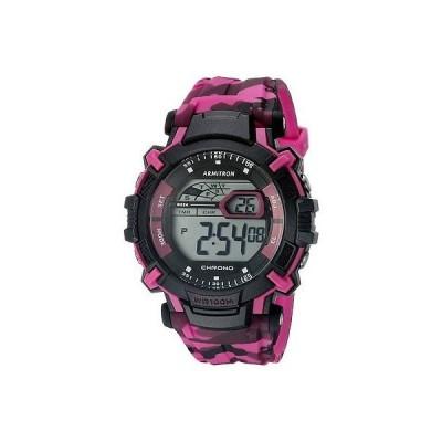 腕時計 アーミトロン Armitron ユニセックス Camoflage レジン 腕時計 100 Meter WR クロノグラフ 40/8312CPK