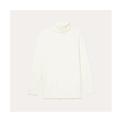 【エーグル】 ハイネックTシャツ レディース ホワイト XL AIGLE