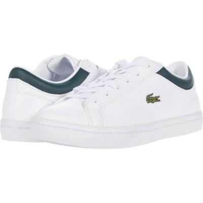 ラコステ Lacoste レディース スニーカー シューズ・靴 Straightset 0120 1 White/Dark Green