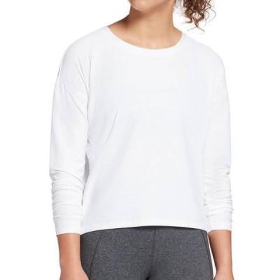 キャリー アンダーウッド レディース シャツ トップス CALIA by Carrie Underwood Women's Textured Long Sleeve Shirt