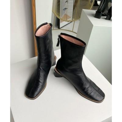 ブーツ 【chuclla】【2020/AW】triangle-heel boots chs82