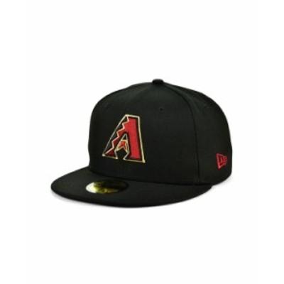 ニューエラ メンズ 帽子 アクセサリー Arizona Diamondbacks 2020 Jackie Robinson 59FIFTY Cap Black