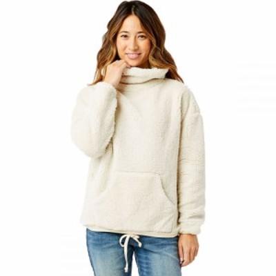 カーヴデザイン Carve Designs レディース スウェット・トレーナー トップス Roley Cowl Neck Pullover Sweatshirt Birch