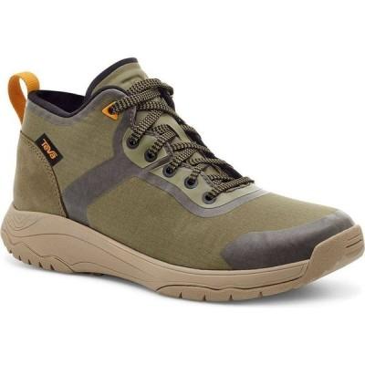 テバ Teva レディース スニーカー シューズ・靴 Gateway Mid Sneakers Green