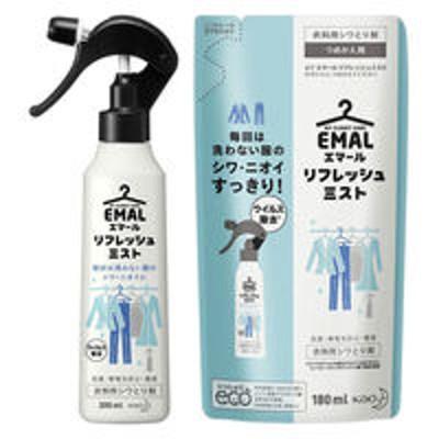 花王エマール リフレッシュミスト フレッシュフローラルの香り 本体 200ml + 詰め替え 180ml 花王