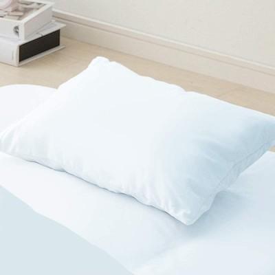 アイリスオーヤマ 枕カバー 綿100% ピローケース 43×63cm 洗える パステルブルー CMP-4363