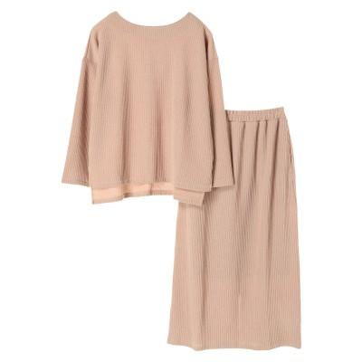 ・SET2点 プルオーバー+スカート
