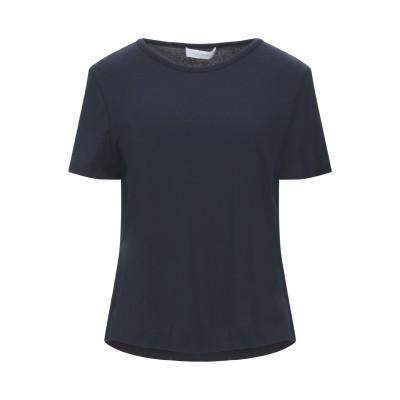 クルチアーニ CRUCIANI T シャツ ダークブルー 42 コットン 93% / ポリウレタン 7% T シャツ