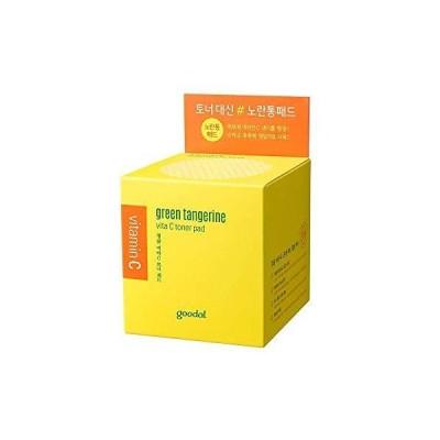 goodal(グーダル) green tangerine vita C toner pad 化粧水 70枚入り(140ml)