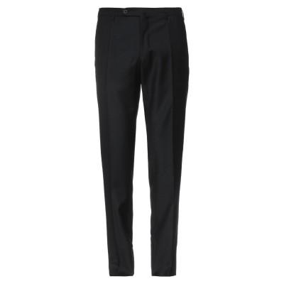 インコテックス INCOTEX パンツ ブラック 30 スーパー100 ウール 100% パンツ