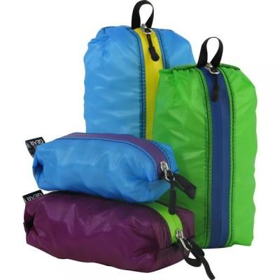 グラナイトギア Granite Gear ユニセックス ハイキング・登山 2点セット Air Zippditty Stuffsack - 2 Pack Assorted