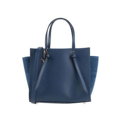 ローラ・ディ・マッジオ LAURA DI MAGGIO ハンドバッグ ブルー 革 ハンドバッグ