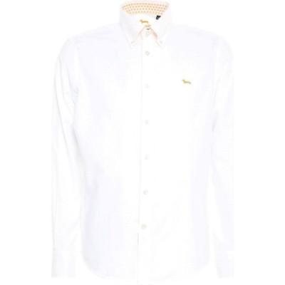 ハーモント アンド ブレイン HARMONT&BLAINE メンズ シャツ トップス Solid Color Shirt White