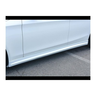 メルセデスベンツ SクラスW222(S300h(ロング除く)・AMG Line) プルシャンブルー サイドステップ/6671-2112 エムズスピード
