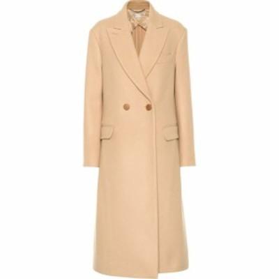 ステラ マッカートニー Stella McCartney レディース コート ダブルブレストコート アウター Wool double-breasted coat Soft Camel