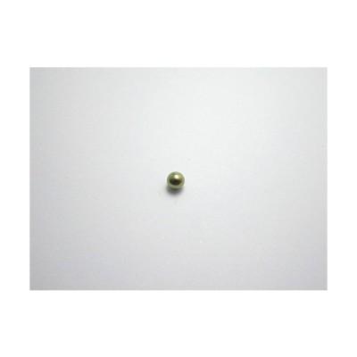 新潟 燕三条 純チタンピアス 片耳 球φ3.0 ベージュ  金属アレルギーの方も安心