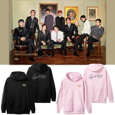 SF9 週辺Good Guyフードスウェット 韓国ファッション 男女兼用 トップス 応援服 メンズ レディース 厚手(裹起毛)パーカー