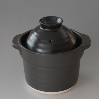 ご飯炊き 土鍋 1合炊き(黒)