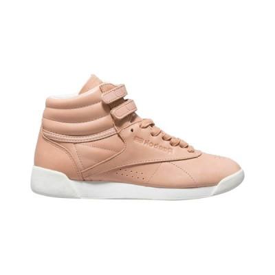 リーボック スニーカー シューズ レディース Reebok Hi Face 35 Suede & Leather Sneaker khaki/white suede leather