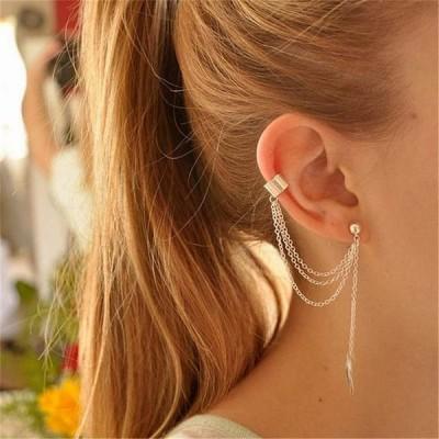 流行 エレガント な作成ビッグ模擬 真珠 ロング イヤリング 真珠 文字列の文ドロップ イヤリング 女性 の結婚式のパーティー
