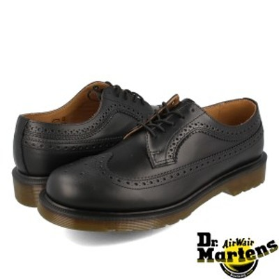 Dr.Martens 3989 BROGUE SHOES R24340001 ドクターマーチン ブローグシューズ BLACK
