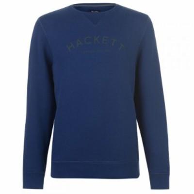 ハケット Hackett メンズ スウェット・トレーナー トップス Classic Crew Sweater Navy