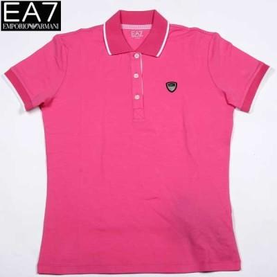 【送料無料】 エンポリオアルマーニ(EMPORIO-ARMANI) レディース EA7 半袖 ポロシャツ 283474 4P414 3070   14S