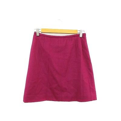 【中古】トゥモローランドコレクション TOMORROWLAND collection スカート 台形 ミニ 38 紫 パープル /AAM33 レディース 【ベクトル 古着】