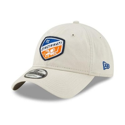 ユニセックス スポーツリーグ サッカー FC Cincinnati New Era Core Classic 9TWENTY Adjustable Hat - Tan - OSFA 帽子