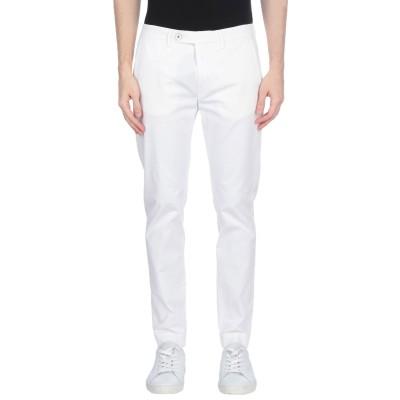 メゾン クロシャード MAISON CLOCHARD パンツ ホワイト 29 コットン 98% / ポリウレタン 2% パンツ
