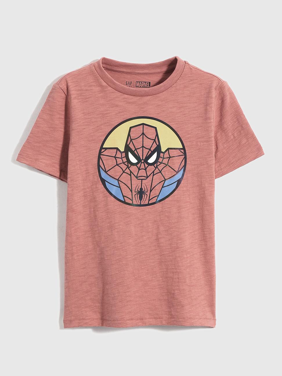 男童 Gap x Marvel 漫威系列純棉短袖T恤