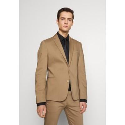 ドライコーン メンズ ジャケット&ブルゾン アウター HURLEY - Suit jacket - beige beige