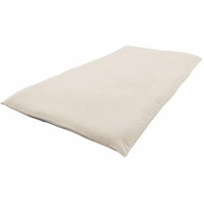 セシール 敷き布団カバー アイボリホワイト シングル 「丈夫でしっかり」綿ツイル CR-728