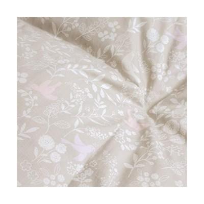 西川 羽毛布団 シングル フランス産 ホワイト ダウン 90% DP390 増量1.3kg 綿 日本製 50018 ベージュ[30] シングル