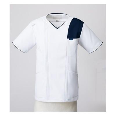 7060SC FOLK メンズジップスクラブ(R) ナースウェア・白衣・介護ウェア