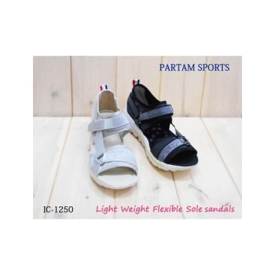 人気軽量 屈曲 クッション性 柔らかい 歩きやすい サンダル IC1250