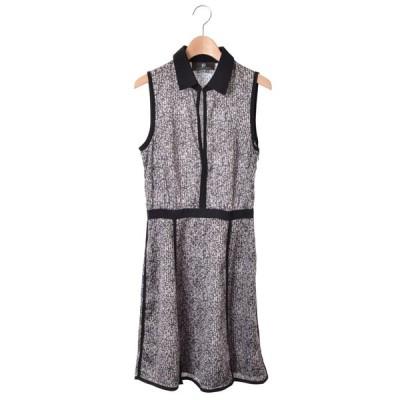 SACHIN + BABI 転写プリント ドレス ワンピース 2 ブラック サッチン + バビ