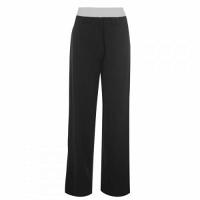 ケンダルアンドカイリー Kendall and Kylie レディース ボトムス・パンツ snap pants Black Multi