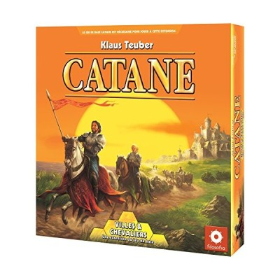 FILOSOFIA???cok04?Basic A Expansion???Board Game???Cities and Knights of the Game 並行輸入品